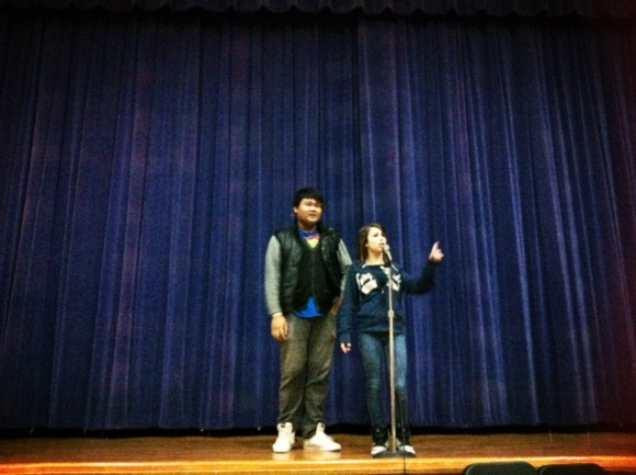 Co-emcees Duncan & Chyanne