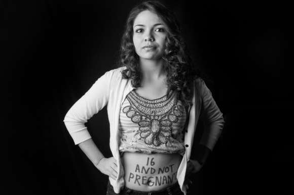 "Alejandra ""16 and not pregnant."""