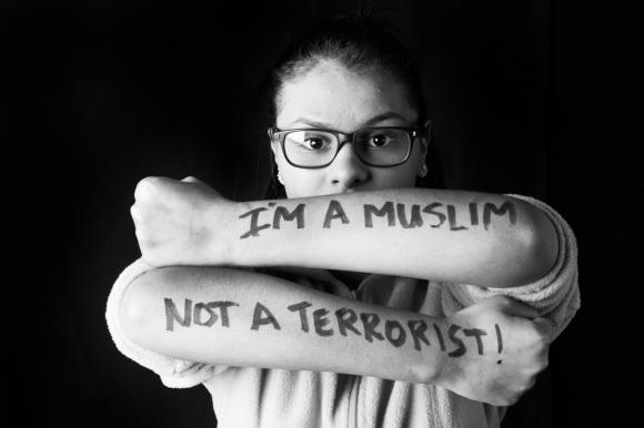 "Ahlam ""I'm a Muslim, not a terrorist."""